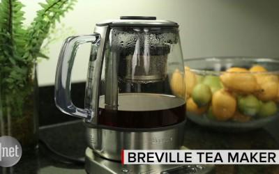 Breville's fancy Tea Maker brews with mechanized precision